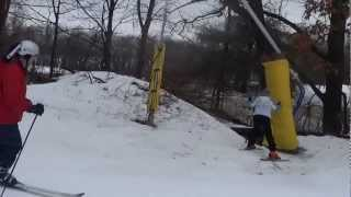 Portage (WI) United States  City new picture : Skiing at Cascade Resort in Portage, Wisconsin USA - Video Three