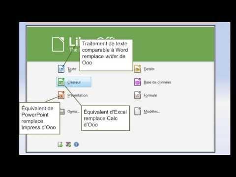 Utiliser LibreOffice Texte  ( Formation Informatique débutants).