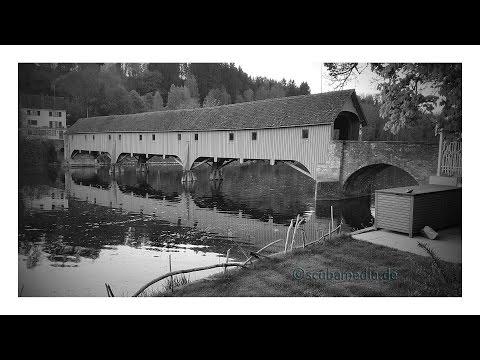 Tauchen im Rhein - Rheinau, Alte Zollbrücke