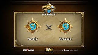 Artefy vs Kranich, game 1