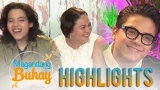 Video Magandang Buhay: Momshie Karla describes Daniel and JC as sons MP3, 3GP, MP4, WEBM, AVI, FLV Agustus 2018