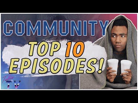 Top 10 Community Episodes (Ranked and explained!) #Sixseasonsandamovie