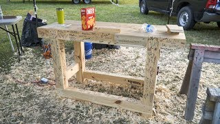 2 day workbench build (outdoor event footage) #skiatook2017