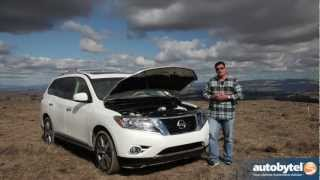 2013 Nissan Pathfinder Off-Road Test Drive&Crossover SUV Video Review