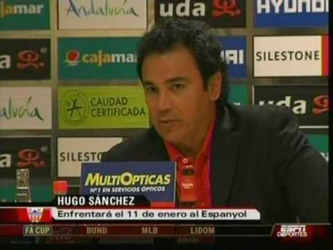 El debut de Hugo Sánchez en el Almería