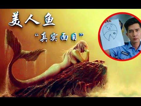 【老烟斗】毁童年,美人鱼形象崩塌,现实中的美人鱼原来长这样!