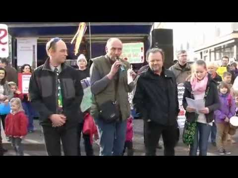 Magdeburg 2014: Demo in Magdeburg gegen Schulschließu ...
