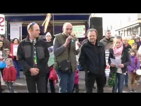Magdeburg 2014: Demo in Magdeburg gegen Schulschlie ...