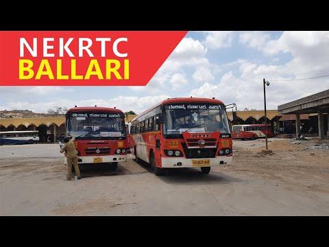 NEKRTC Bus Station Ballari, Karnataka