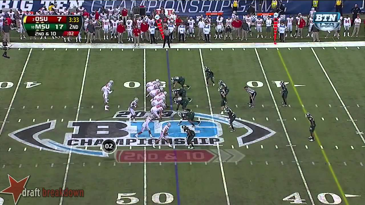 Taiwan Jones vs Ohio State (2013)