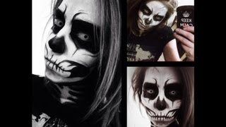 Skull Makeup Tutorial - YouTube