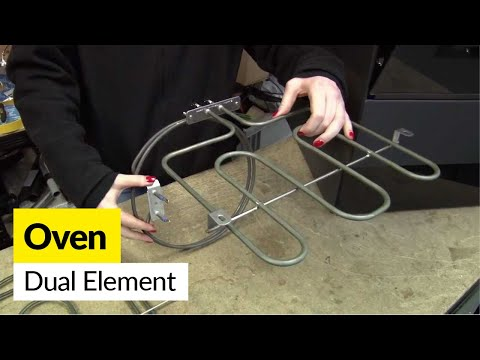 How to replace a dual cooker element in an electric cooker