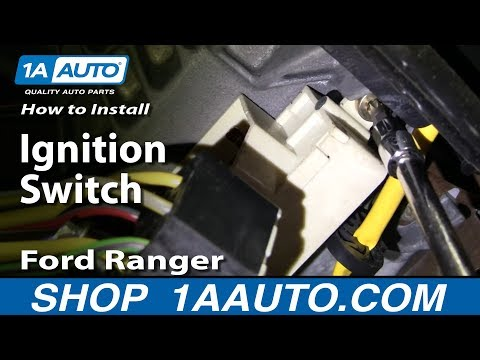 How To Install Replace Ignition Switch Ford Ranger 95-04 1AAuto.com