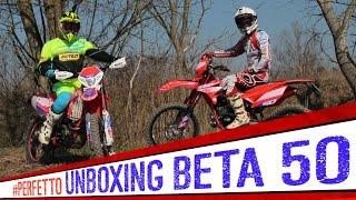 4. Beta RR Enduro 50 Unboxing e TEST  [ENGLISH SUB]