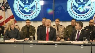 Video President Trump Participates in a Customs and Border Protection Roundtable MP3, 3GP, MP4, WEBM, AVI, FLV April 2018
