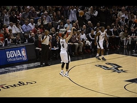 Breaking - Check out all of Danny Green's three-pointers as he breaks Ray Allen's Finals record with 23 made. Visit nba.com/video for more highlights. About the NBA: Th...