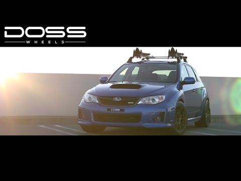 2014 Subaru WRX Hatchback Doss FF2 Wheels