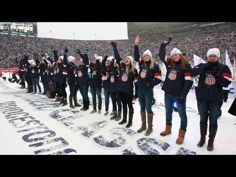 Team USA Women's Hockey team announced