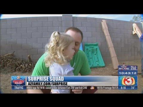 AZ Family's Surprise Squad gives deserving dad a lift