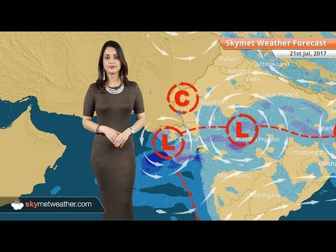 Weather Forecast for July 21 Rain in Mumbai, Kolkata, Gujarat