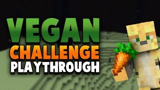 Trying To Beat Minecraft But As A Vegan Pacifist