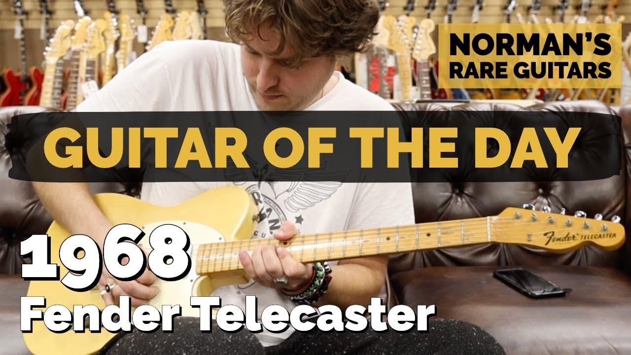 Guitar of the Day: 1968 Fender Telecaster Maple Cap   Norman's Rare Guitars