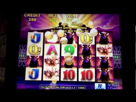 BUFFALO Slots BIG WIN!!! – 423X bet / $847.50 – at the D Casino in Downtown Las Vegas