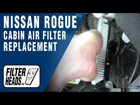 AQ1114 - Purchase this filter at http://www.filterheads.com/AQ1114 AQ1114 filter fits Nissan Altima 07-10, Rogue 08-11 and Sentra 09-11. The model shown in this video...