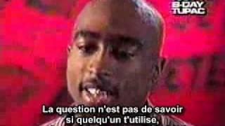 Tupac interview francais - Qui est le mac ?