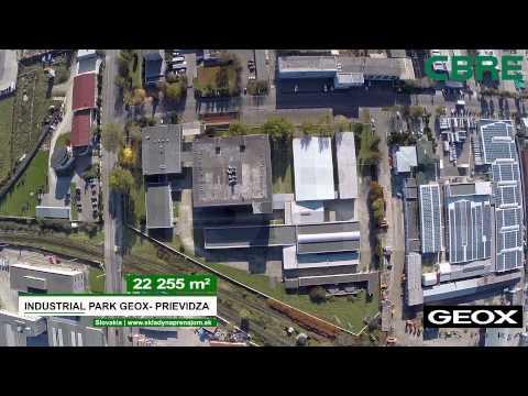 Geox - Prievidza   Výrobno-skladový areál   Production and Warehouse facility