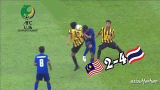 Video LALUAN SUKAR UNTUK MALAYSIA | MALAYSIA 2-4 THAILAND | AFC U-16 CHAMPIONSHIP | HIGHLIGHT+EXTEND CLIPS MP3, 3GP, MP4, WEBM, AVI, FLV September 2018