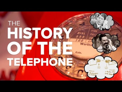 The history of the telephone