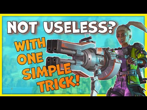 This One Trick Finally Makes Rampart's Ultimate Ability Better - Apex Legends