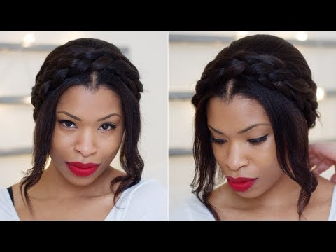 HAIR | Cute Milkmaid Braids for Spring