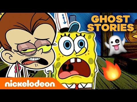 Campfire Ghost Stories 👻 w/ SpongeBob SquarePants & The Loud House | Nick