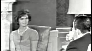 Video March 24, 1961 - New First Lady Jacqueline Kennedy interviewed by Sander Vanocur MP3, 3GP, MP4, WEBM, AVI, FLV Juni 2018