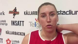 Erica Iderstål efter Högsbo