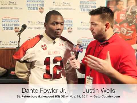 Dante Fowler Jr. Interview 11/30/2011 video.