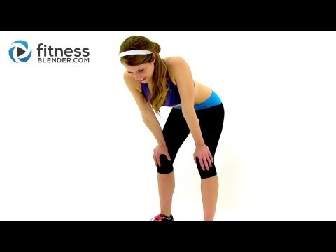 Fitness Blender's When I Say Jump HIIT Cardio Round 2 – Fat Burning At Home Cardio