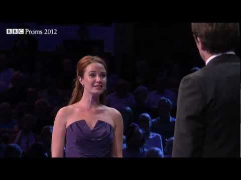Sierra Boggess - BBC Proms 2012 from the Royal Albert Hall, London. Sierra Boggess and Julian Ovenden perform the Balcony Scene from Leonard Bernstein's musical, West Side St...