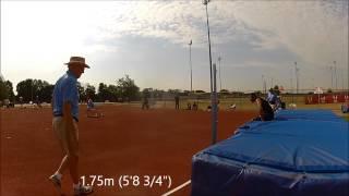 Olathe (KS) United States  City new picture : M35-49 High Jump at 2013 USA Masters Outdoor Nationals - Olathe, KS