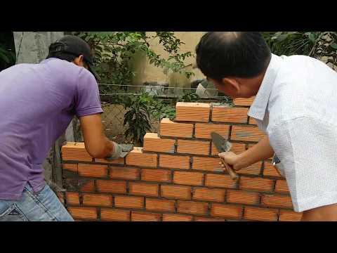 Xây tường 10 đơn giản - Building a wall easily