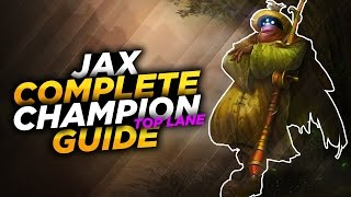 Today I'll be covering Top Lane Jax for Season 7, Patch 6.24. I'm going to cover his Pros & Cons, Masteries, Runes, Summoners, Abilities, Skill Order, Combos, ...