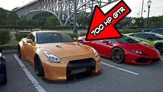 Riding in a 700HP Widebody GTR by Evan Shanks