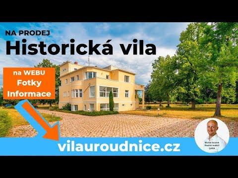 Video Vila u Roudnice nad Labem, kam jezdil Vlasta Burian