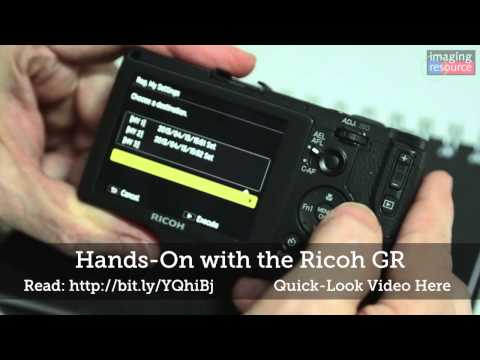 Ricoh GR Review: Hands On