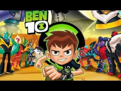 BEN 10 All Cutscenes Movie (Game Movie) - BEN 10 Full Movie
