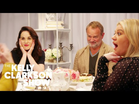 'Downton Abbey' Cast Plays 'Never Have I Ever' With Kelly Clarkson