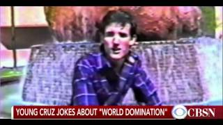 From: http://www.youtube.com/user/cbsnewswebextras January 26, 2016 - A video has resurfaced of a young Ted Cruz talking about his high aspirations.... Pigmi...