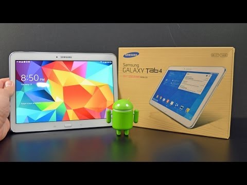 Samsung Galaxy Tab 4 10.1: Unboxing & Review